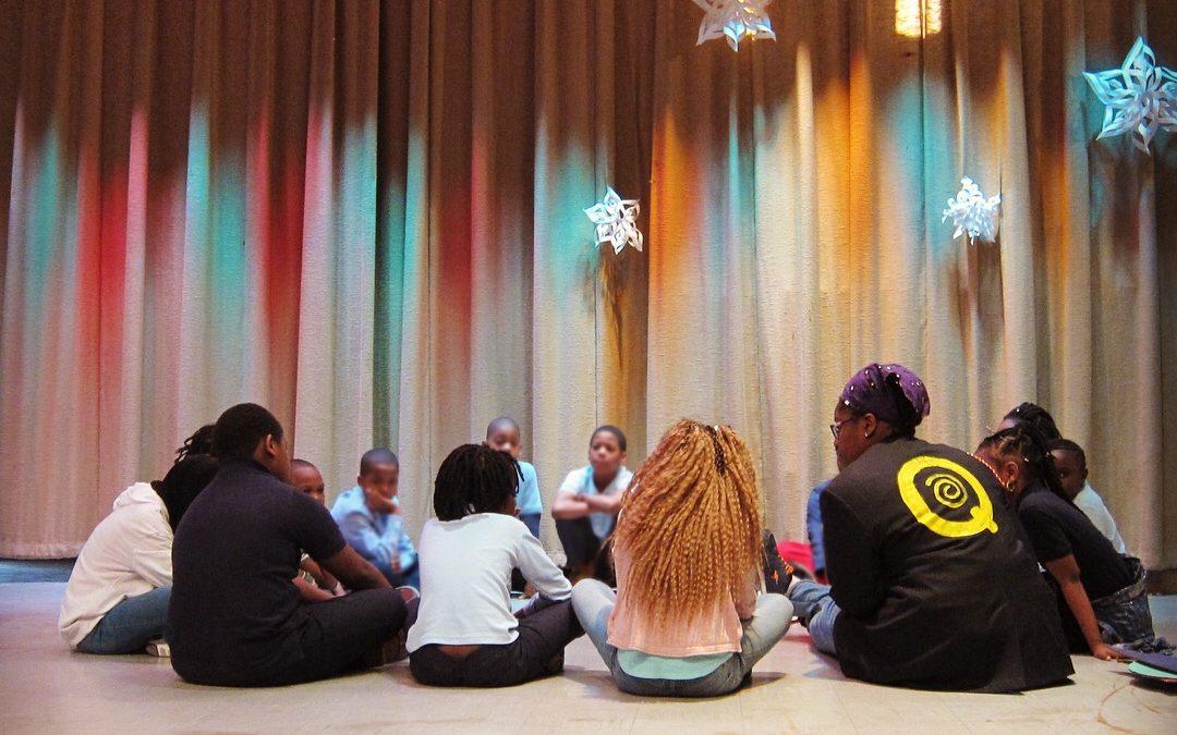 Story Circle at Pulse of the People Assemblies