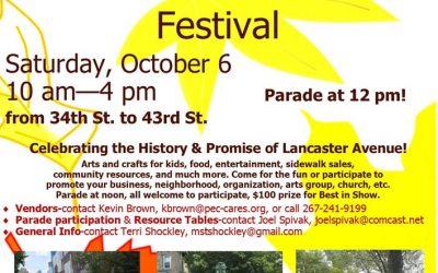 Lancaster Avenue Day!