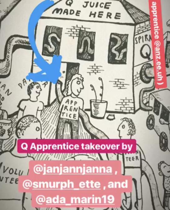 Student Apprentice Instagram Takeover