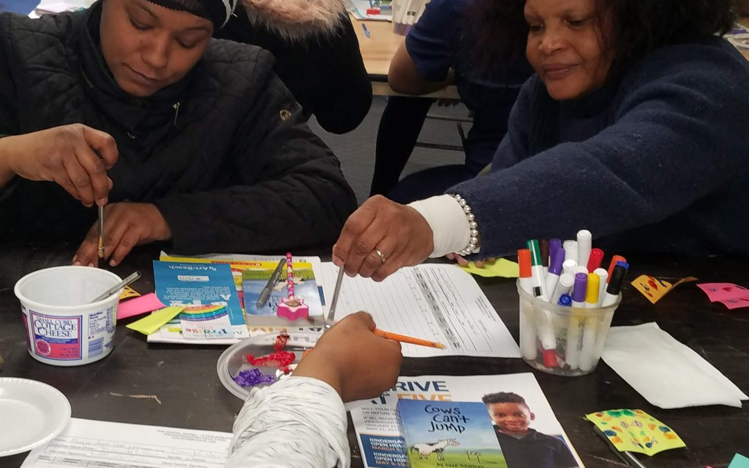 Making Art With Parents – PEACE Cohort Program
