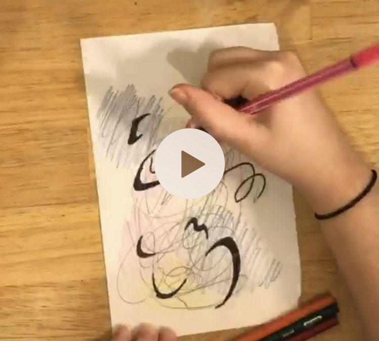Scribbles! Activity – Art at Home with Spiral Q