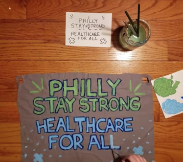 Banners of Support – Art at Home with Spiral Q