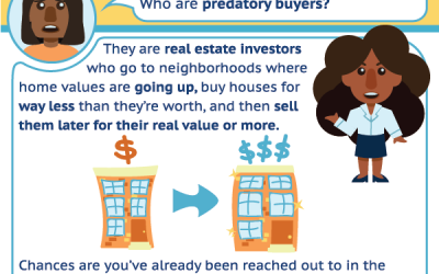 Predatory Home Buying Comic made with CLS and APM