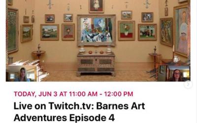 Barnes Art Adventure
