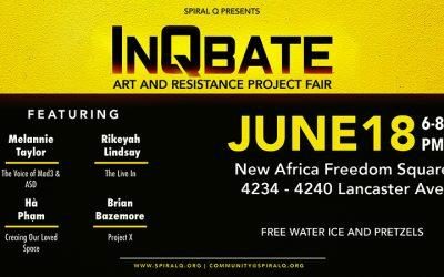 InQbate Art & Resistance Project Fair