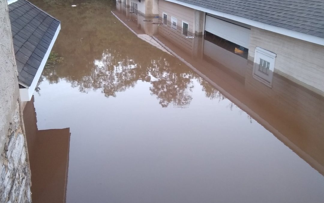 Spiral Q got flooded